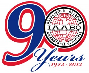 IAABO 90th Ann Logo